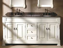 42 Inch Bathroom Vanity With Granite Top by Sheffield 72 White Double Vanity Carrera Marble Top Undermount