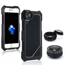 Amazon iPhone 7 Camera Lens Kit OXOQO 3 in 1 202° Fisheye
