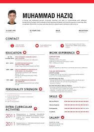 Job Resume Sample Malaysia For Internship Professional Fresh Graduate