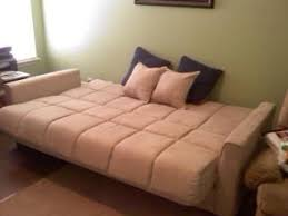 Baja Convert A Couch Futon Sofa Bed Khaki Walmart