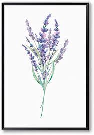 blätter blume leinwand malerei frühlingsgrün pflanze lila
