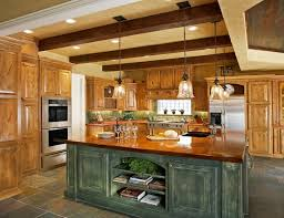 Marvelous Kitchen Island Decor Idea With Rustic Style
