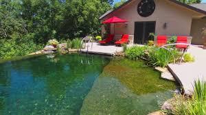 100 Infinity Swimming Edge Natural Pool