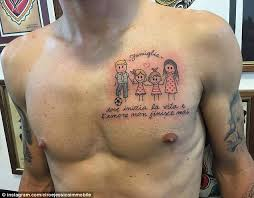 Ciro Immobile Has Displayed His Sensitive Side By Showing Off A New Tattoo Dedicated To