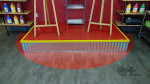 Johnsonite Rubber Tile Maintenance Instructions by Painting With A Twist On Lvf