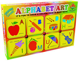 Alphabet Art Sr Educational Preschool Toy