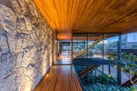 100 Glass Walled Houses StonesWallsWoodMetalModernHouseBrazil_1