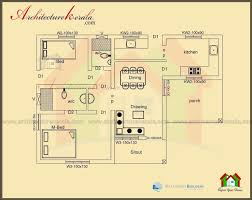 100 1000 Square Foot Homes 36 Contemporary Feet House Plan Kerala Model Design