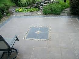 Charming Outdoor Patio Flooring Best Tile For Exteriors Concrete Tiles With Pebble Floor