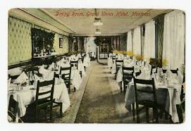 Dining Room Grand Union Hotel Montreal