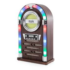 Slimline Christmas Trees Tesco by Bluetooth Jukebox With Cd Player And Fm Radio Park Christmas