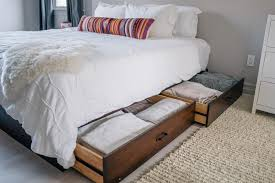 Raymour And Flanigan Bed Frames by Storage Ideas When You Don U0027t Have Closet Space Jess Ann Kirby
