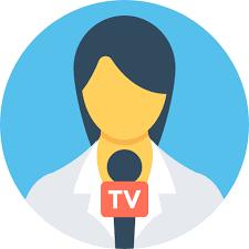 News Reporter Free Icon