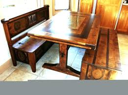 Corner Kitchen Table With Storage Bench Thepoultrykeeperclub