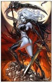 Image Is Loading SIGNED LADY DEATH PAOLO PANTALENA 11 X 17