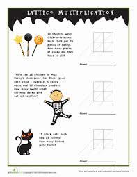 Halloween Multiplication Worksheets Grade 5 by 3rd Grade Halloween Multiplication And Division Worksheets