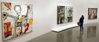expo musee moderne une toile de basquiat vandalisée au musée d moderne de la