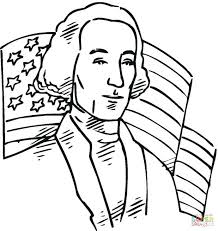 George Washington Carver Coloring Pages Bridge President Page Free Sheets