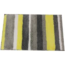 Gray And Yellow Bathroom Decor Ideas by Grey And Yellow Bathroom Rug Decorating Clear