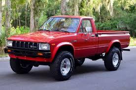 100 1982 Toyota Truck Pickup 4x4 Regular Cab Tacoma Trd Hilux 22r 5 Speed Low