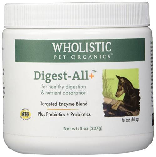 Wholistic Pet Organics Digest All Plus Supplement - 8oz