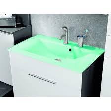 fackelmann glaswaschbecken mintgrün
