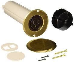 Hubbell Floor Box Covers And Accessories by Hubbell Raco 6rf151sr Drop In Floor Box Kit With Brass Cover