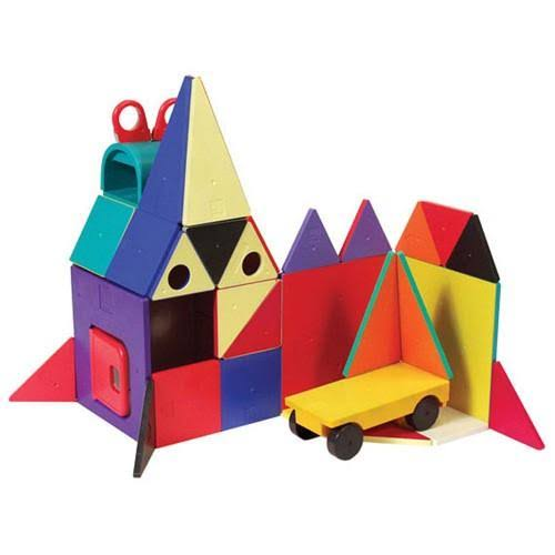 Magna Tiles Solid Colors 48 Piece DX Set