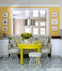 Decorating Yellow Grey Kitchens Ideas Cool And Kitchen