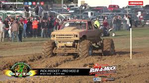 100 Truck Mud Run Virginia Motor Speedway MUD BOG MADNESS Brian Vick October 2015