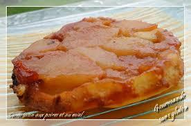 dessert aux pommes sans gluten gourmande sans gluten tarte tatin aux poires et au miel sans gluten