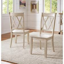 HomeSullivan Sawyer Antique White Wood X-Back Dining Chair (Set Fo 2 ... White Fniture Co Mid Century Modern Walnut Cane Ding Chairs Bross White Fabric Chair Resale Fniture Of America Livada I Cm3170whsc2pk Coastal Set 2 Leatherette Counter Height Corliving Hillsdale Bayberry Of 5791 802 4 Novo Shop Tyler Rustic Antique By Foa On 4681012 Pieces Leather In Black Brown Sydnea Acrylic Wood Finished Amazoncom Urbanmod