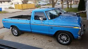 99 Blue Ford Trucks Is This Truck Bahama Or Grabber Truck Enthusiasts