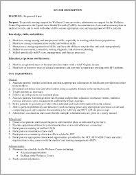 Detailed Job Description Sample Template Resume Examples EVdGPQ6kGp With Staff Nurse And 1289x1664px