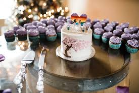 Rustic Italian Wedding Cake With Lego Topper Cupcakes