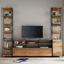 Wall Units Exciting Living Room With Storage Unit Designs For