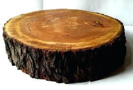 Tree Slice Cake Stand Rustic Wood Slab Amazon