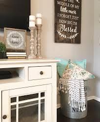 Living Room Decor Farmhouse Style Neutral Candlesticks Hobby