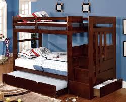 buy furniture of america cm bk612 woodridge twin twin bunk bed