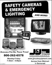 SAFETY CAMERAS & EMERGENCY LIGHTING, J & J TRUCK EQUIPMENT, Somerset, PA