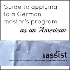 Guide To Applying To A Masters Program In Germany As An American