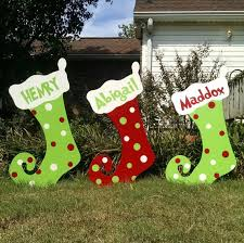 Outdoor Christmas Decorations Ideas To Make by 25 Unique Christmas Yard Decorations Ideas On Pinterest Diy