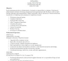 Clerical Resume Sample For Administrative General Office Clerk