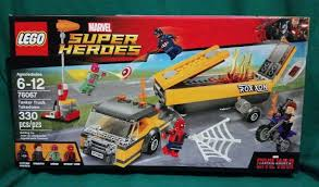 NEW! Lego Tanker Truck Takedown 76067 Captain America Civil War ...
