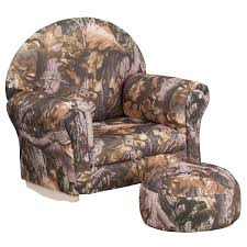 Kids Camouflage Fabric Rocker Chair And Footrest X Rocker Sound Chairs Dont Just Sit There Start Rocking Dozy Dotes Contemporary Camo Kids Recliner Reviews Wayfair American Fniture Classics True Timber Camouflage And 15 Best Collection Of Folding Guide Gear Magnum Turkey Chair Mossy Oak Nwtf Obsession Rustic Man Cave Cabin Simmons Upholstery 683 Conceal Brown Dunk Catnapper Motion Recliners Cloud Nine Duck Dynasty S300 Gaming Urban Nitro Concepts Amazoncom Realtree Xtra Green R Cushions Amazing With Dozen Awesome Patterns