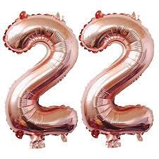 100 Sweet 22 Amazoncom Nd Birthday Decorations Party Supplies Jumbo Rose