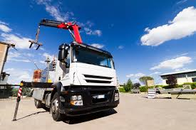 Truck Mounted Cranes « Industrial Crane Technologies