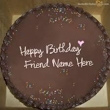 Cake · Write name on Chocolate Birthday