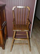 vintage high chair ebay