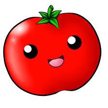Tomatoes Drawing Cute Kawaii Tomato By Chloeisabunny Image Library